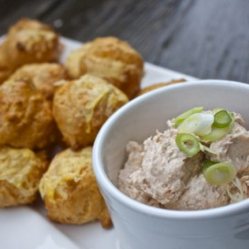 Gougères with Reserve Selection Smoked Salmon Pâté