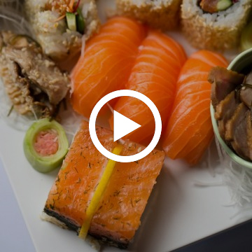 How to make nori rolls and nigiri