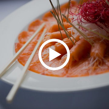 How to make a Huon salmon sashimi plate