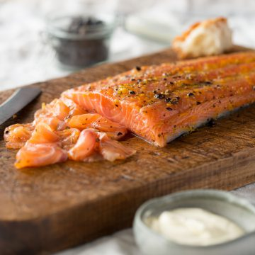 'Sugar and Spice' Cured Huon Salmon
