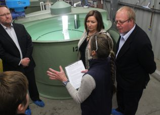 Experimental Aquaculture Facility Officially Open!