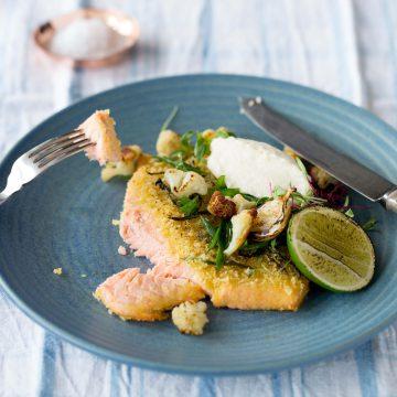 Huon Salmon Schnitzel