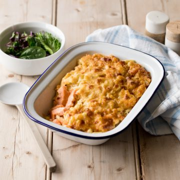 Huon Salmon Mac N Cheese