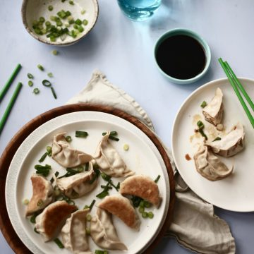 Huon Salmon Dumplings