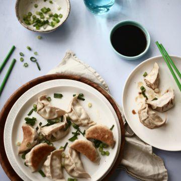 Huon Salmon Dumplings