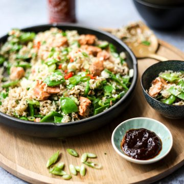 Huon Salmon Fried Rice