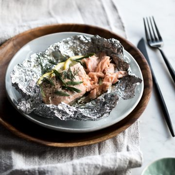 BBQ Herb Huon Salmon