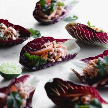 Huon Salmon Taco
