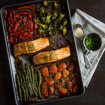 One Pan Teriyaki Huon Salmon