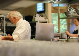 New chefs playing the game: Jacques Reymond