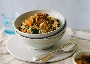 Huon Salmon Spaghetti