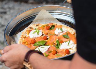 Huon Salmon Pizza by Massimo Mele