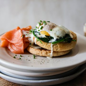 Easy Huon Smoked Salmon Eggs Benedict