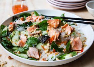 Huon Salmon Vietnamese Noodle Salad