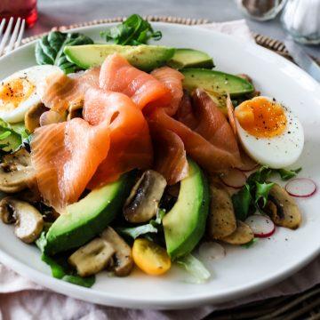 Huon Smoked Salmon Breakfast Salad