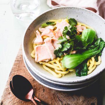 Huon Salmon Noodle Soup