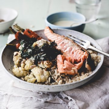 Huon Salmon Autumn Bowl