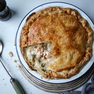 Huon Salmon Winter Pie