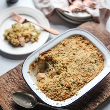 Huon Salmon Crumble