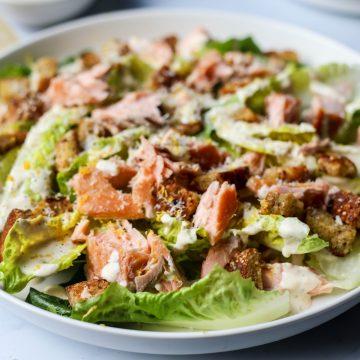 Huon Salmon Caesar Salad