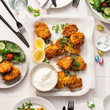 Leftovers and Sweet Corn Fritters