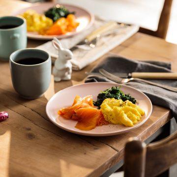 Easy Huon Smoked Salmon Breakfast
