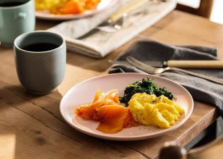 Easy Huon Smoked Salmon Breakfast