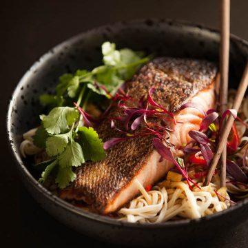 Asian Huon Salmon Salad