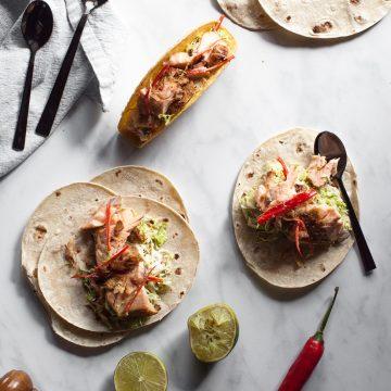 Huon Salmon Thai Tacos