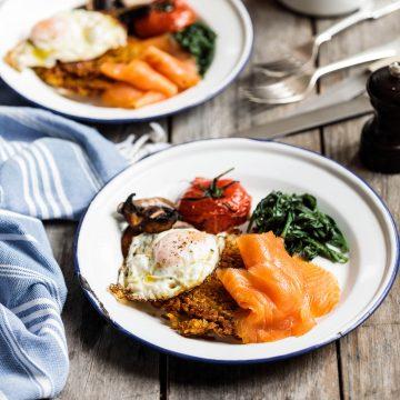 The Perfect Big Breakfast Hash Brown