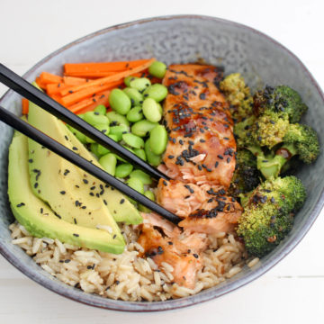 Teriyaki Salmon Nourish Bowl