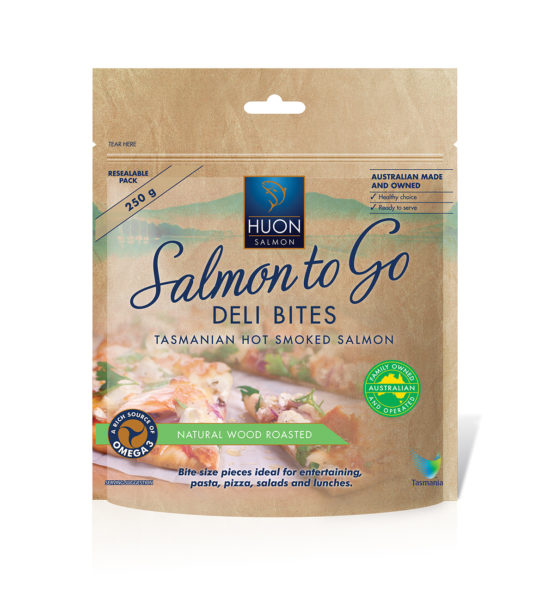 Salmon to Go Wood Roasted Deli Bites 250g