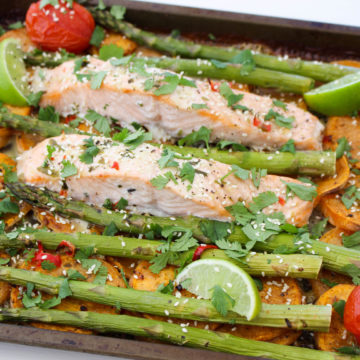 One Tray Thai Salmon