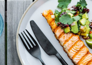 Huon RSPCA Approved Salmon now available in the freezer section at Woolworths