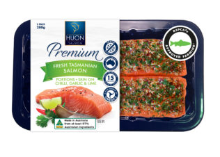 Huon RSPCA-approved salmon hits Coles shelves