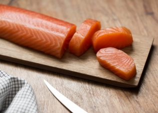 Huon Salmon – rated best seafood